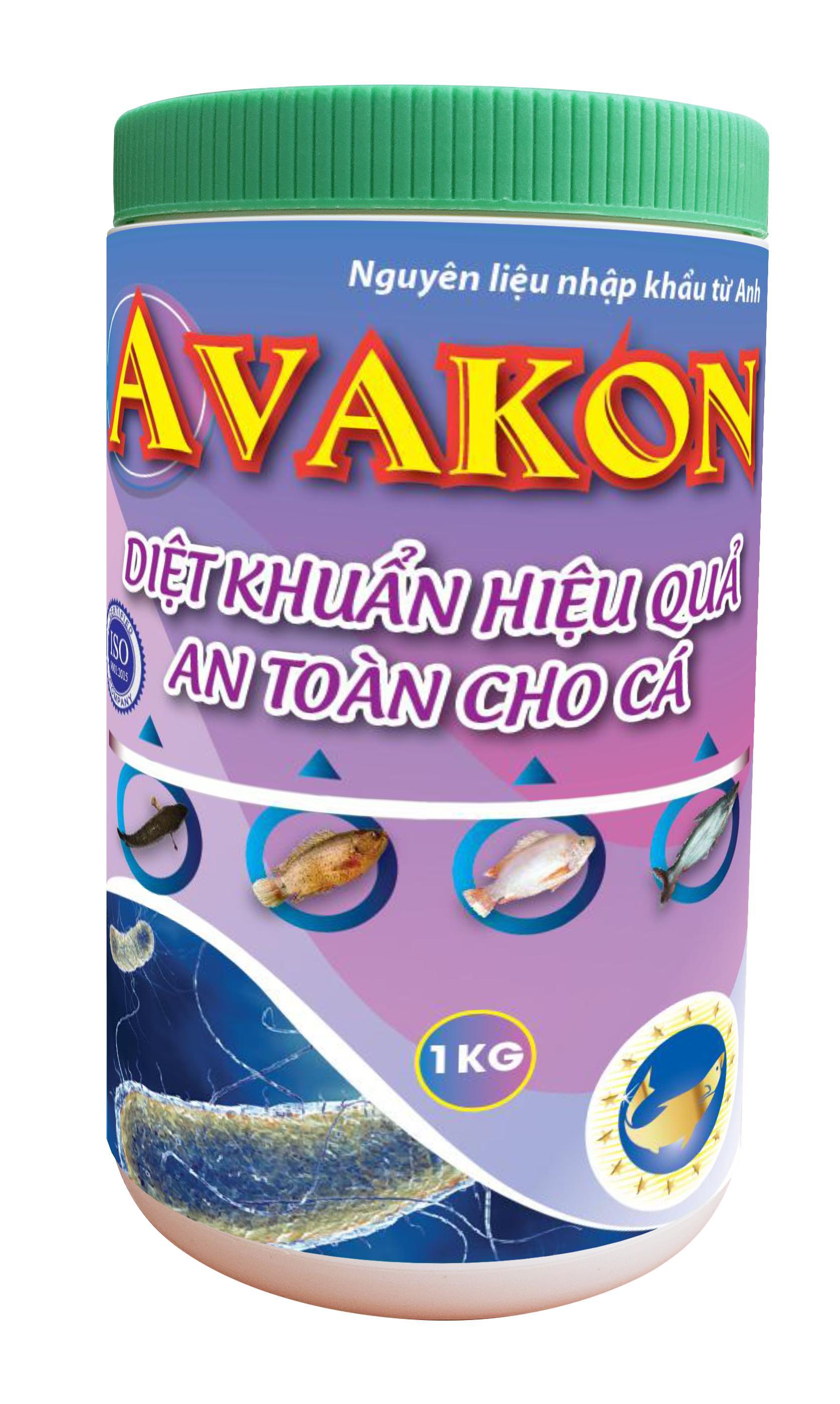 AVAKON - Diệt khuẩn an toàn hiệu quả cho cá