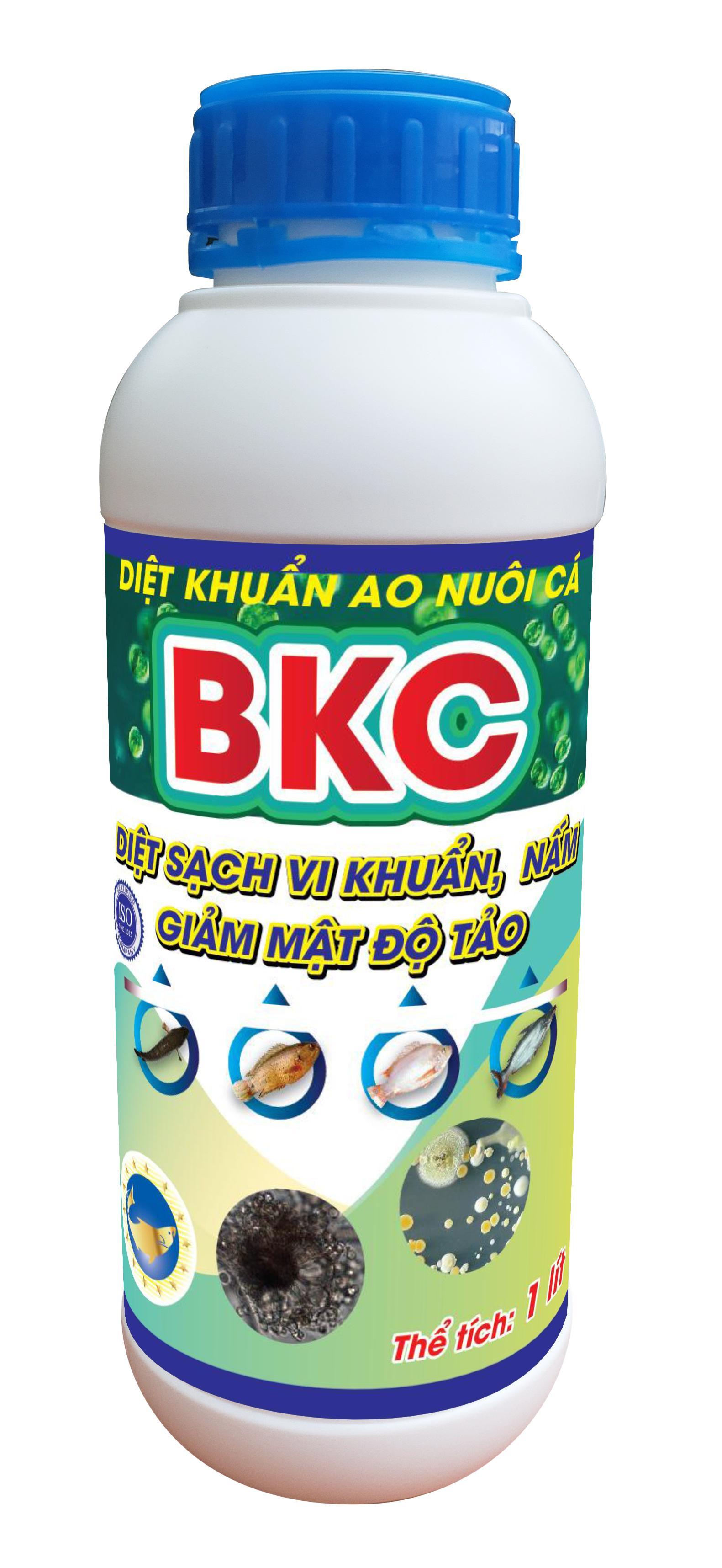 BKC - Giảm mật độ tảo trong ao cá