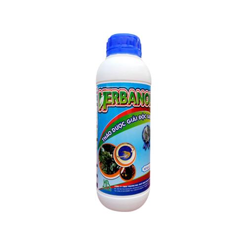 HERBANOL - Thảo dược giải độc gan cho tôm hiệu quả