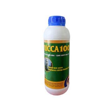 YUCCA 100 - Hấp thụ khí độc, khử mùi hôi ao