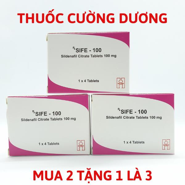 Thuốc  cường dương, kích nứng 100mg  -  MUA 2 TẶNG 1 LÀ 3