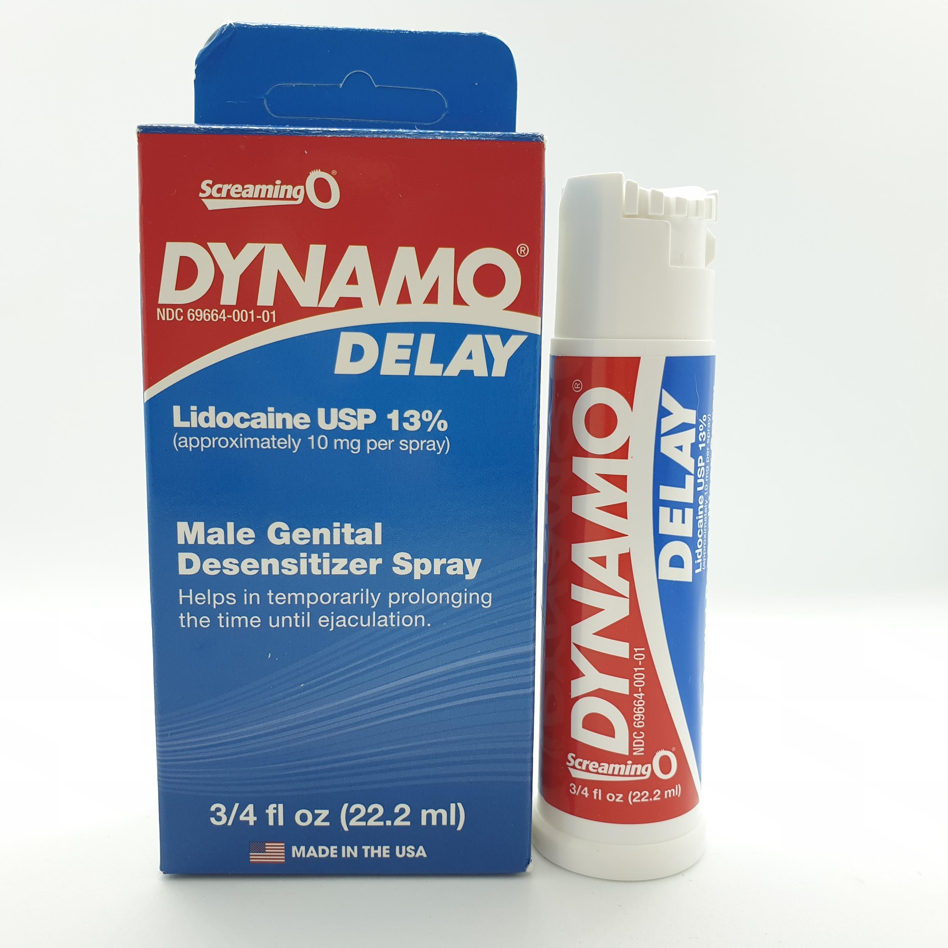Chai xịt lâu xuất tinh  Dynamo Delay - Tặng 1 bộ vòng ku lâu xuất tinh.