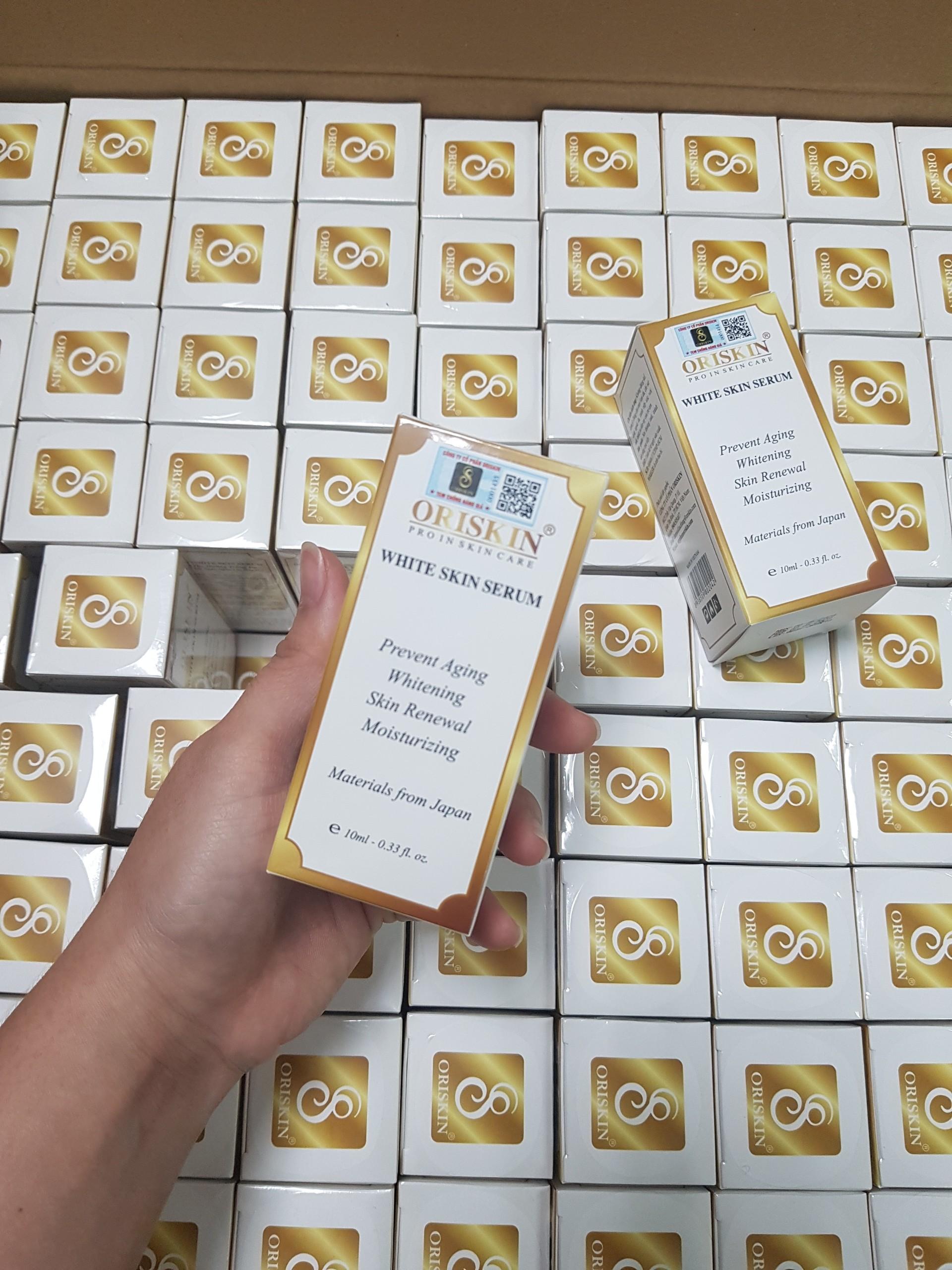 SERUM PHỤC HỒI - DƯỠNG TRẮNG DA ORISKIN WHITE SKIN SERUM Mini 10ml