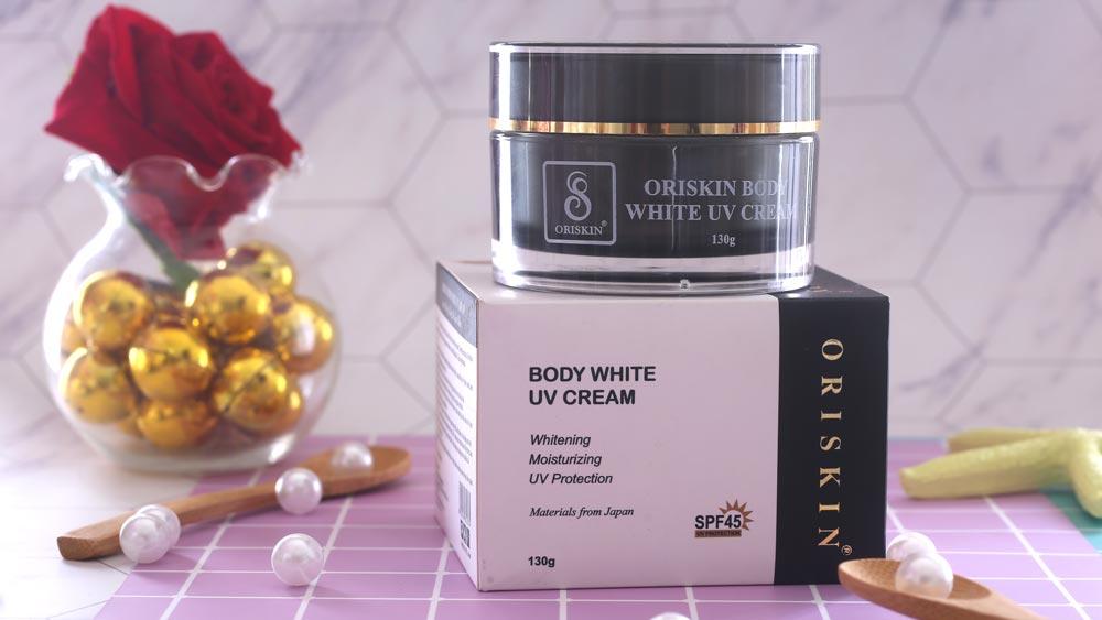 Oriskin Body White UV Cream - Kem body dưỡng trắng, dưỡng ẩm da toàn thân
