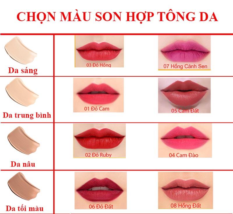 Son môi Oriskin Matte Lipstick