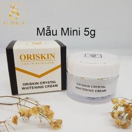 Kem Dưỡng Trắng - Dưỡng Ẩm Da Oriskin Crystal Whitening Cream ( Hộp Mini 5g )