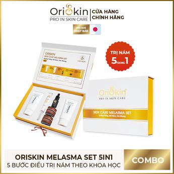 Bộ Sản Phẩm Dưỡng Trắng, Mờ Nám, Tàn Nhang 5in1 Oriskin Skin Care Melasma Set