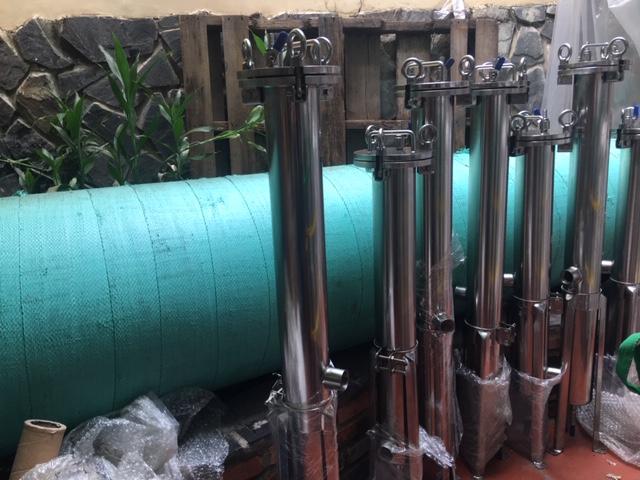 Bình lọc túi, bình lọc lõi inox dùng cho lọc nước, lọc chất lỏng trong sản xuất công nghiệp