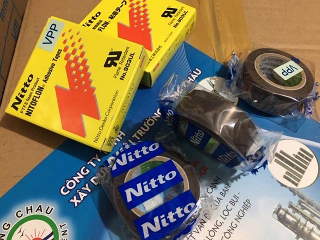 Băng keo điện Nitto 903 ULS bản 19mm