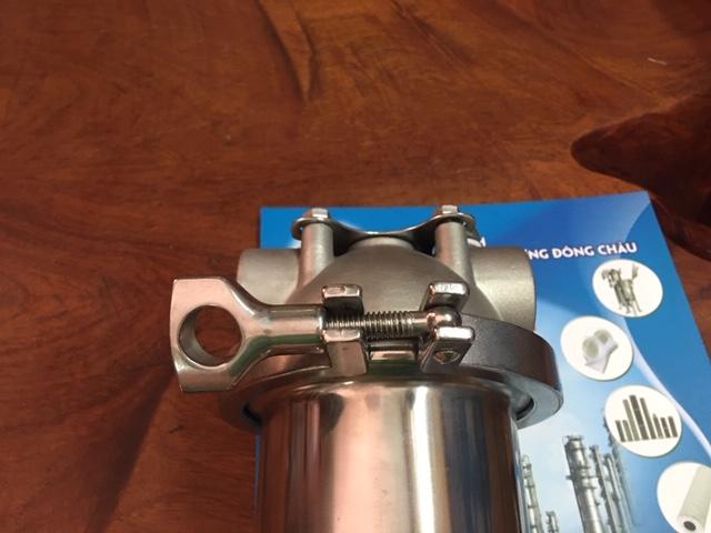 Cốc lõi lọc 10 inch có Kết nối Clamp