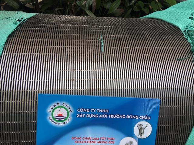 Ống lọc khe kích thước lớn dùng chắn rác trong thu nước sông