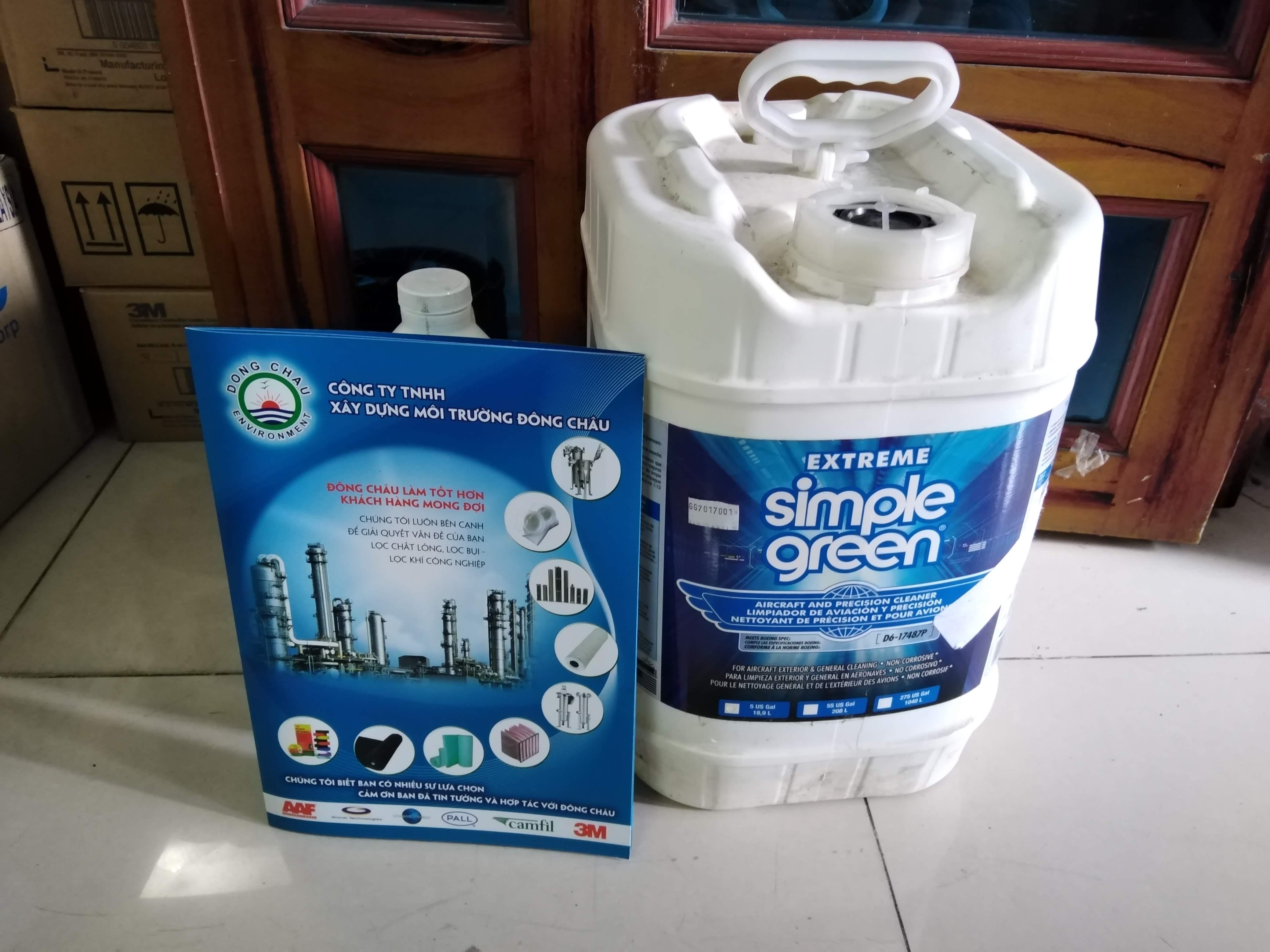 Simple Green Crystal 18.9 lít Bình tẩy dầu mỡ công nghiệp