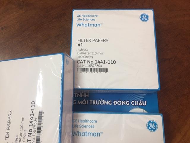 1441-110 Giấy lọc Whatman cho PTN