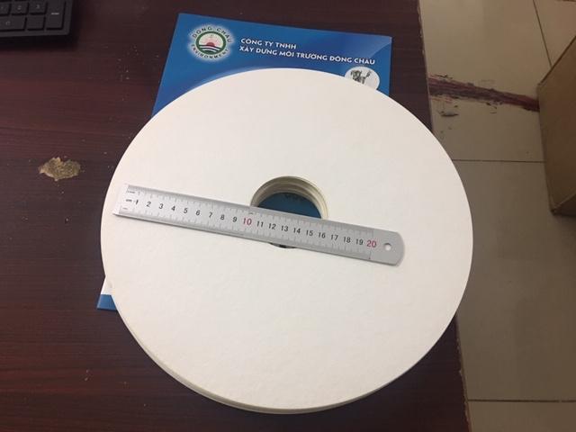 Miếng giấy lọc cặn dầu tuabin, thủy điện hình tròn