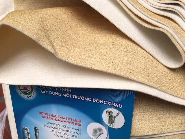 vải lọc bụi lọc khí chịu nhiệt độ cao 250 độ C