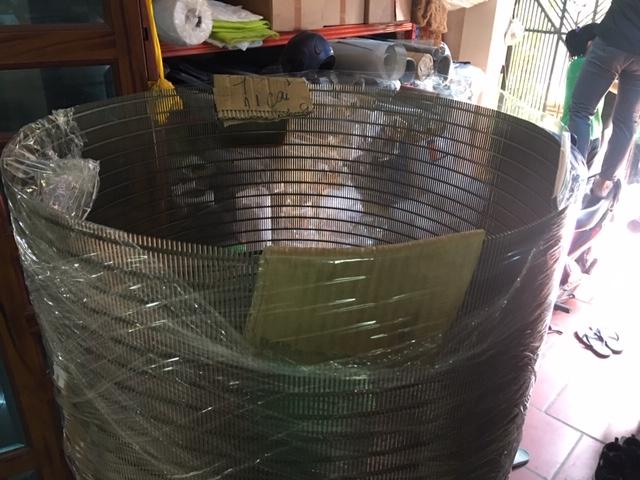OD600 ống lọc khe kiểu Johnson khe dọc chiều dài