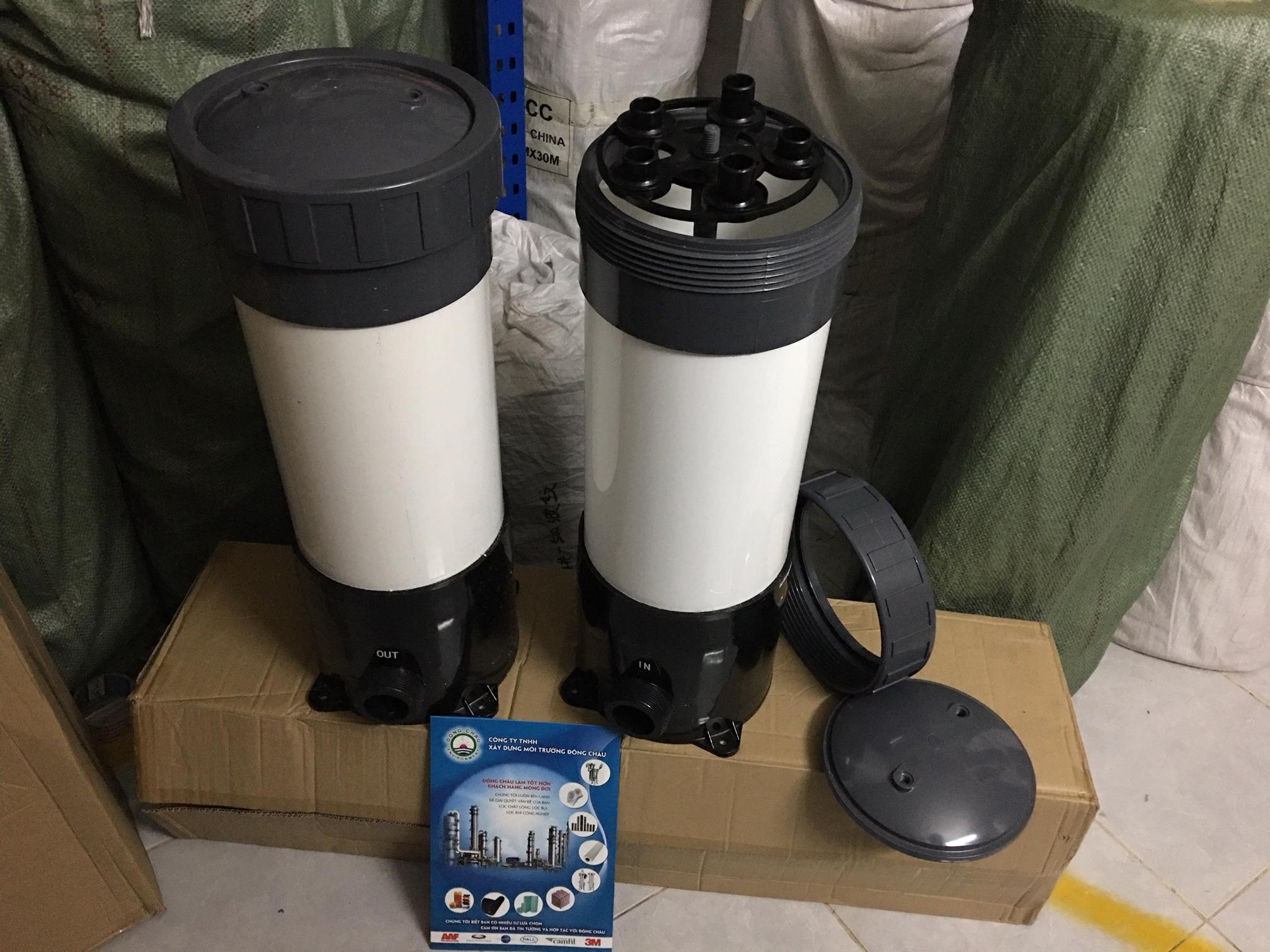Bình nhựa uPVC 5 lõi 20 inch lọc nước mặn lọc nước biển