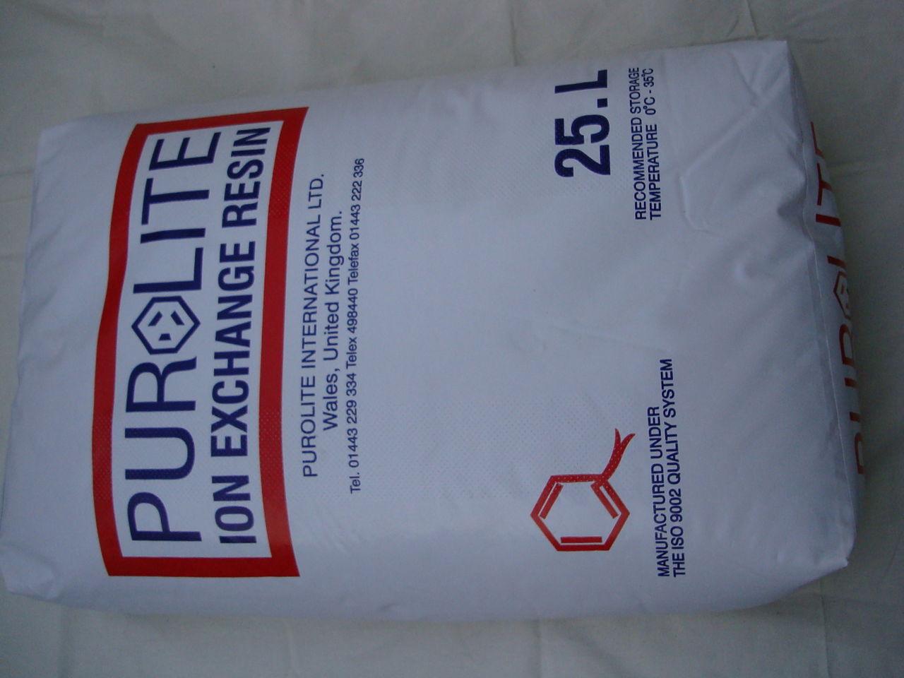 Hạt nhựa trao đổi ion A400 Purolite