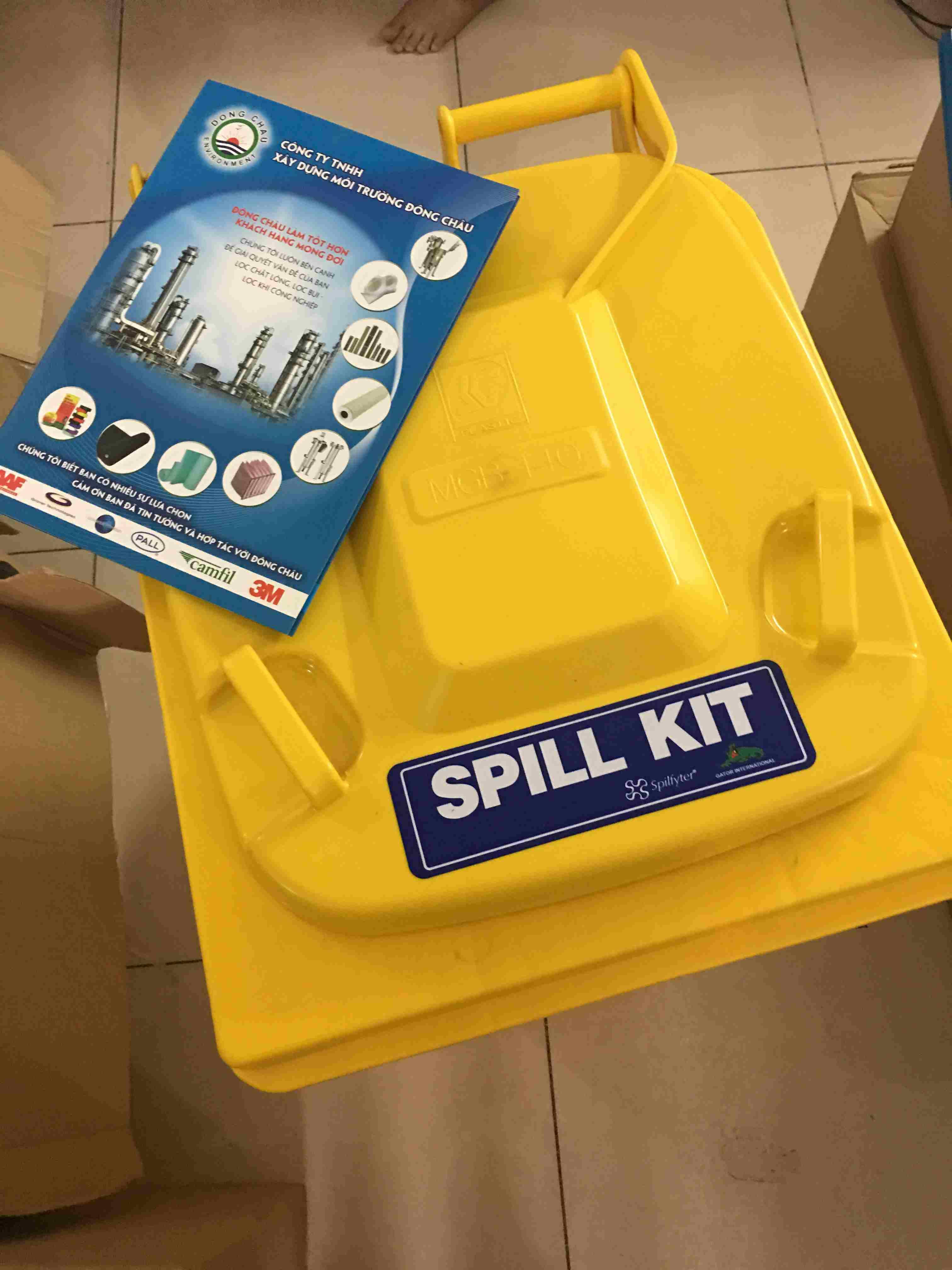 Bộ Kit ứng cứu nhanh sự cố tràn hóa chất Spilfyter