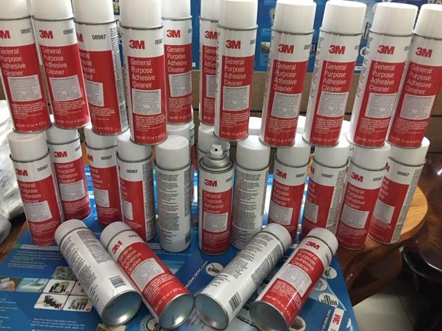 Chai tẩy keo và nhựa đường màu đỏ 3M 08987