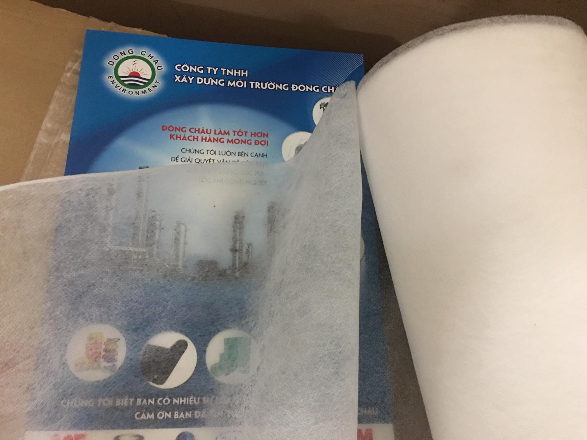 Giấy lọc cuộn MGPP 30g loại mỏng, 50 micron