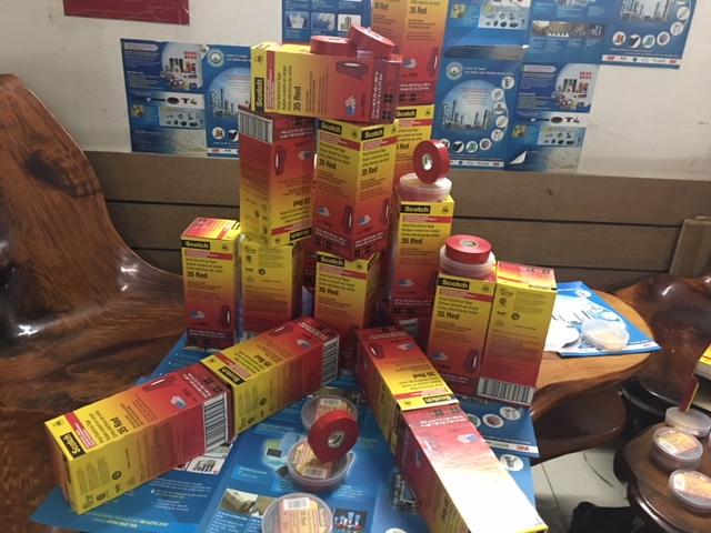 Băng Keo Điện 3M Scotch 35 Màu Đỏ