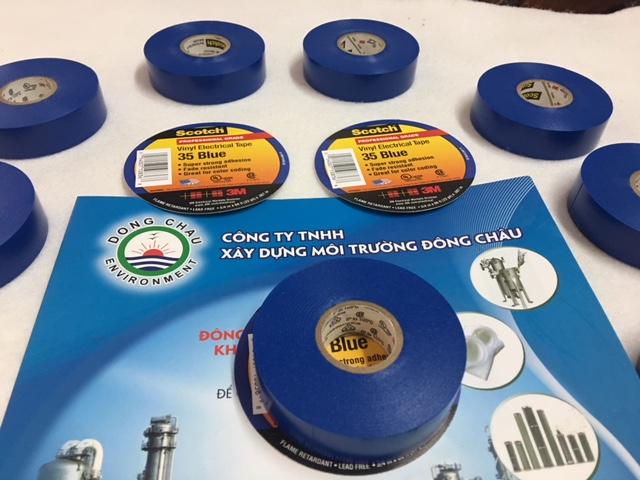 Băng Keo Keo Điện 3M Scotch 35 Màu Xanh Dương