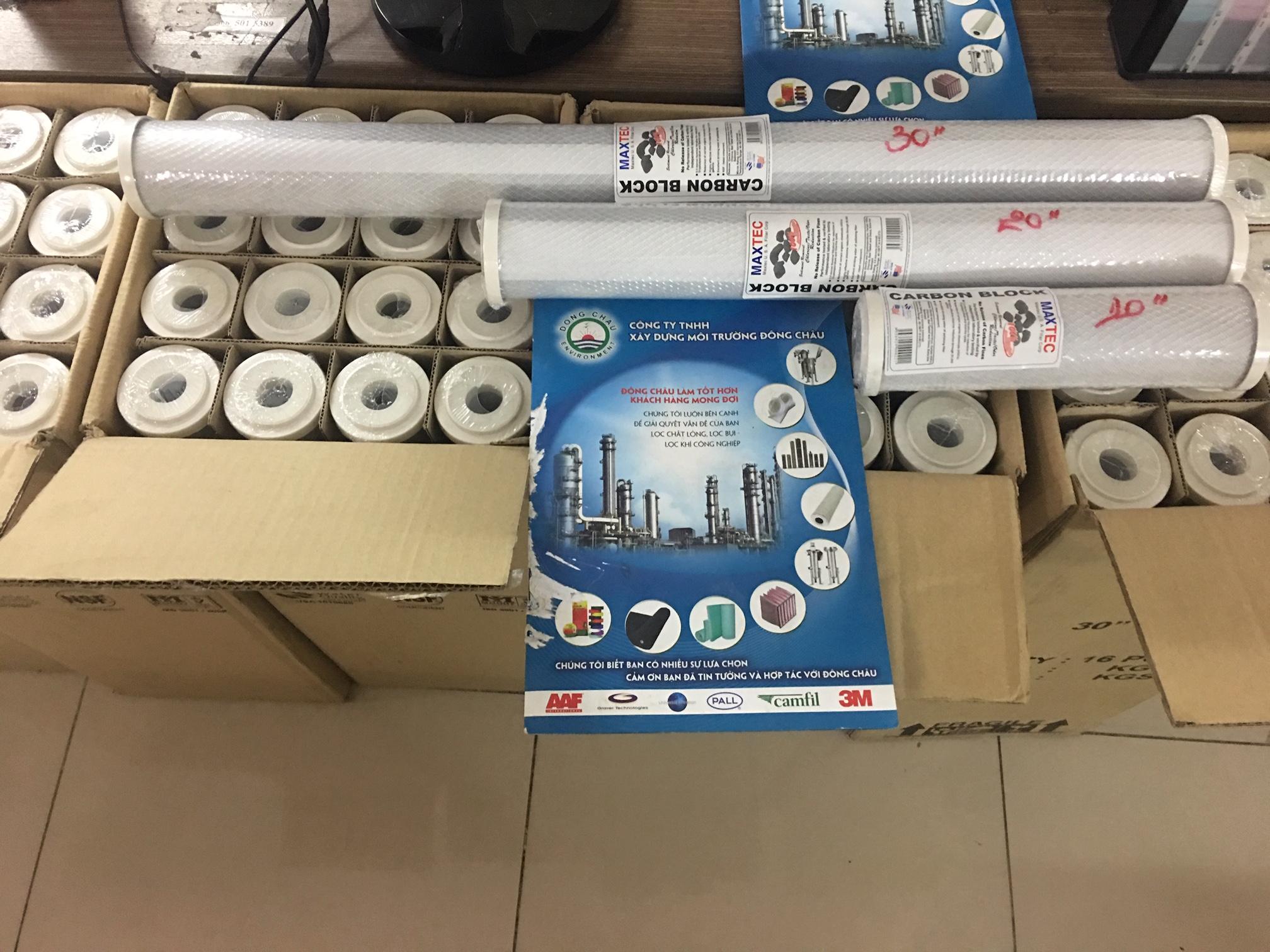 Lõi than lọc nước CTO 30 inch Maxtec Malaysia - USA