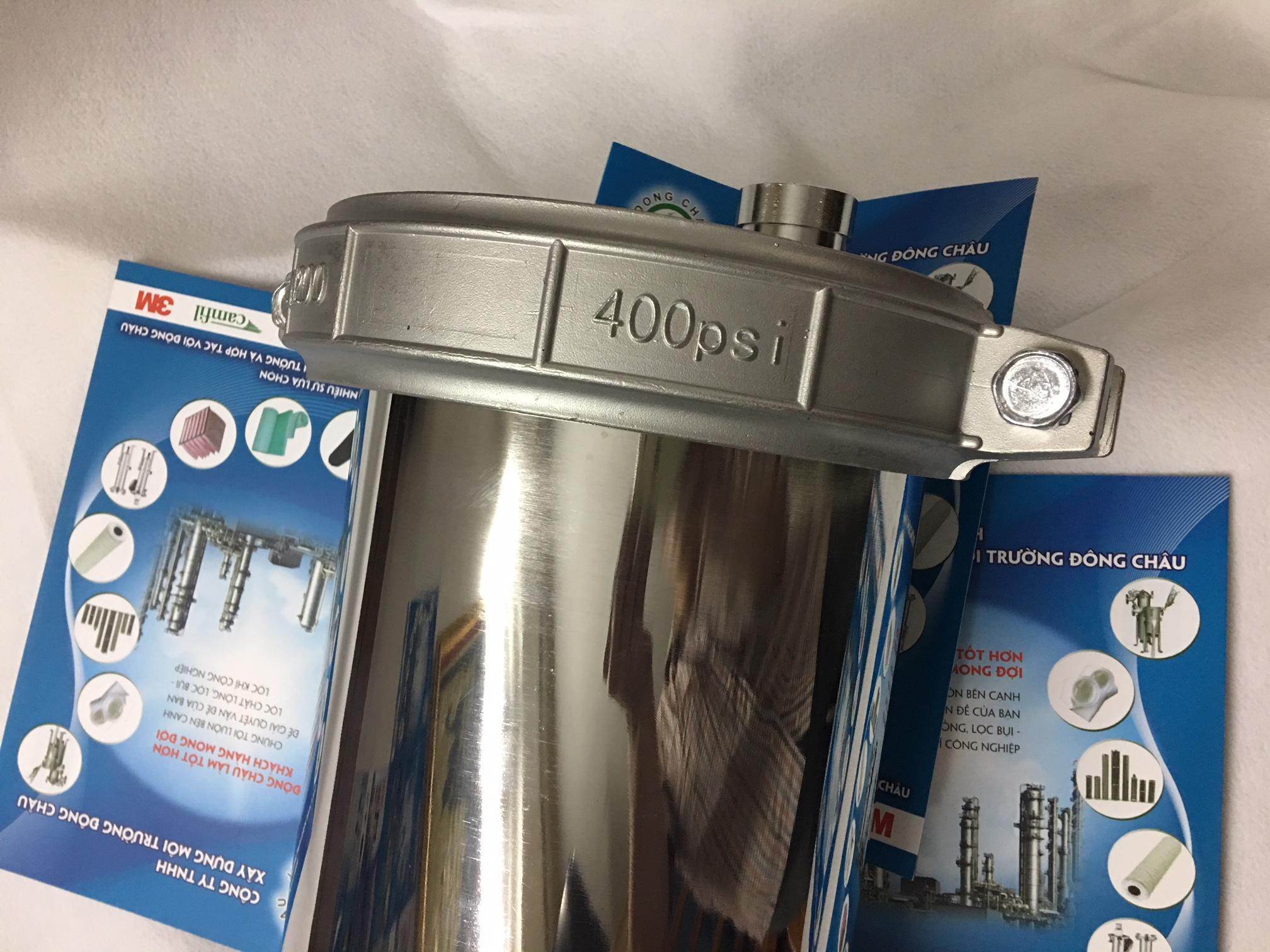 vỏ màng UF 8040 inox 100% không gỉ