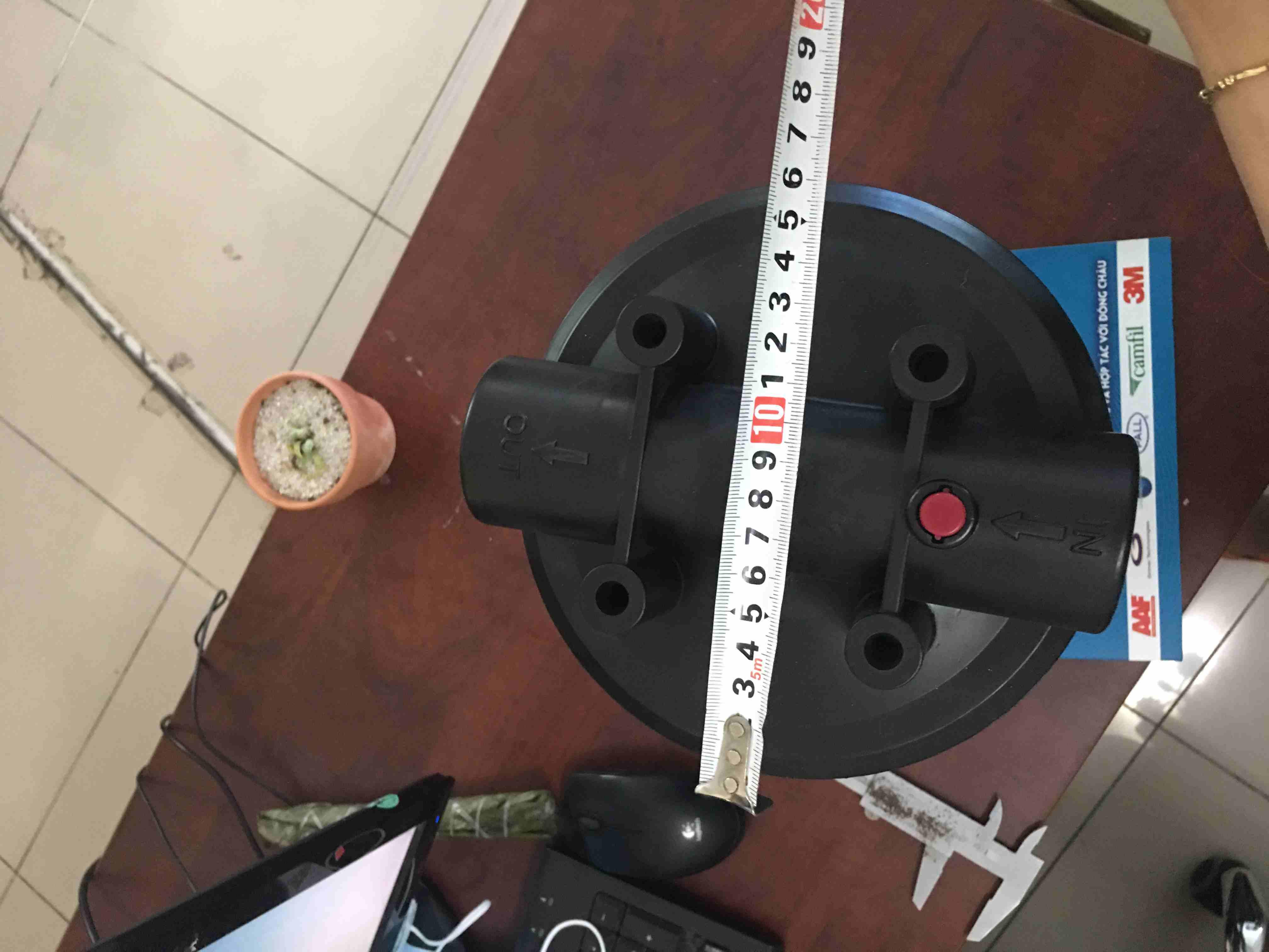 Cốc Nhựa Xanh Biglue Xanh 10 Inch
