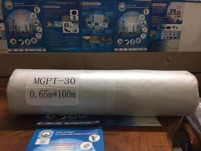 Giấy lọc cặn dạng cuộn 0.65x100m dùng lọc cặn máy mài, lọc cặn hóa chất, lọc cặn trong sản xuất