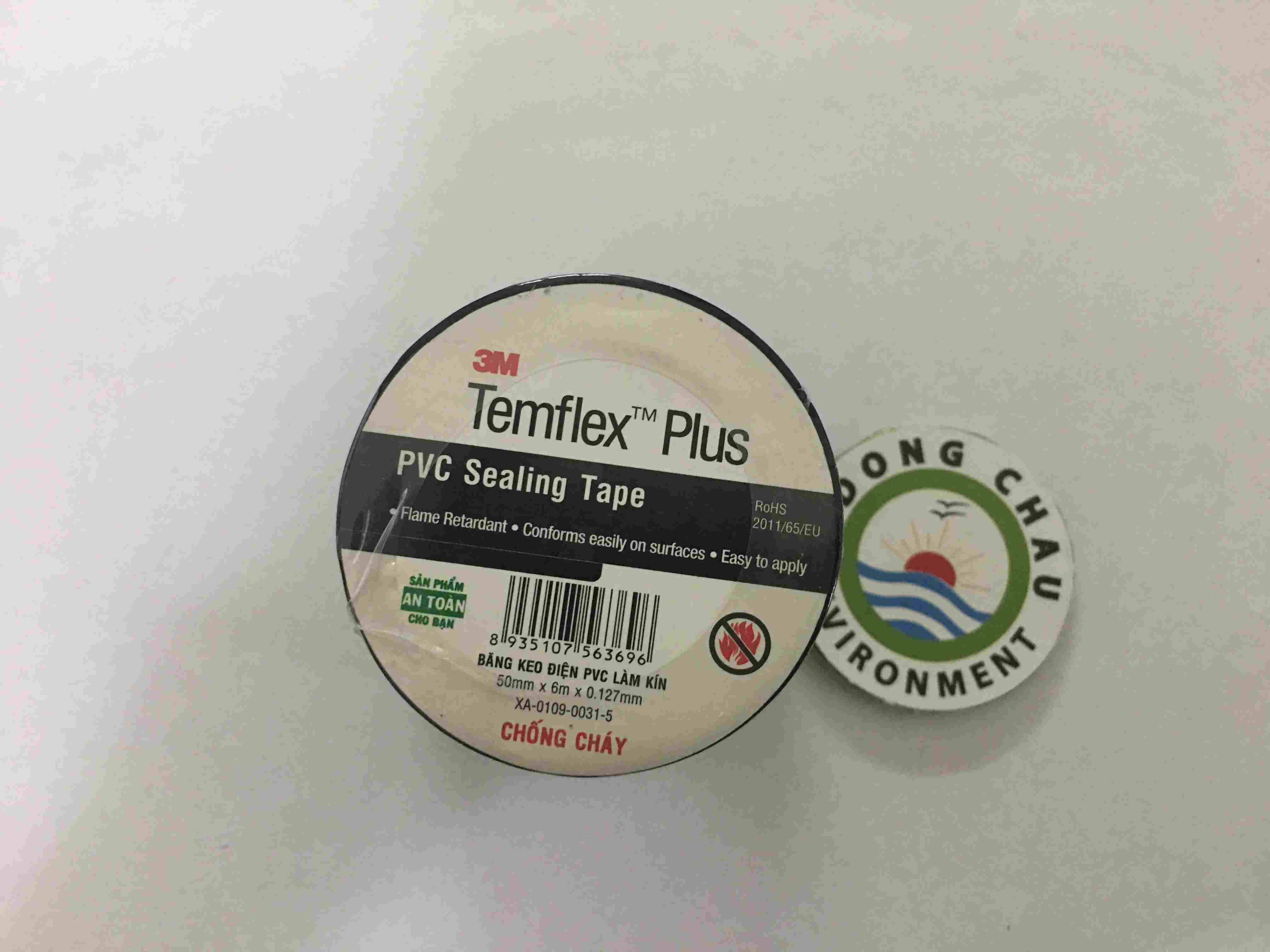 Băng Keo Điện 3M Templex Plus 50mm, băng keo điện chịu nhiệt 3M, băng keo điện 3M mỹ, băng keo templex plus