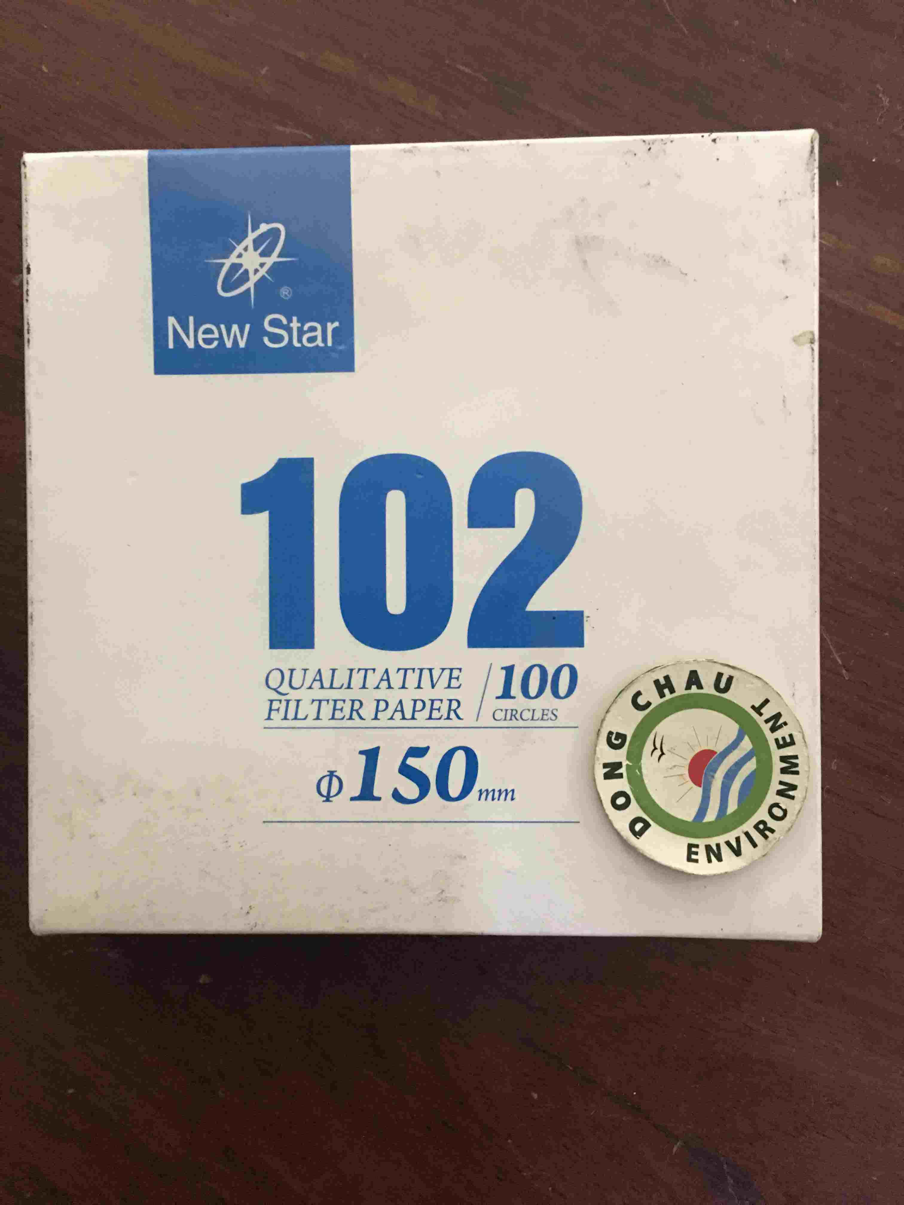 Giấy Lọc Phòng Thí Nghiệm Newstar 102 Đường Kính 150 Mm