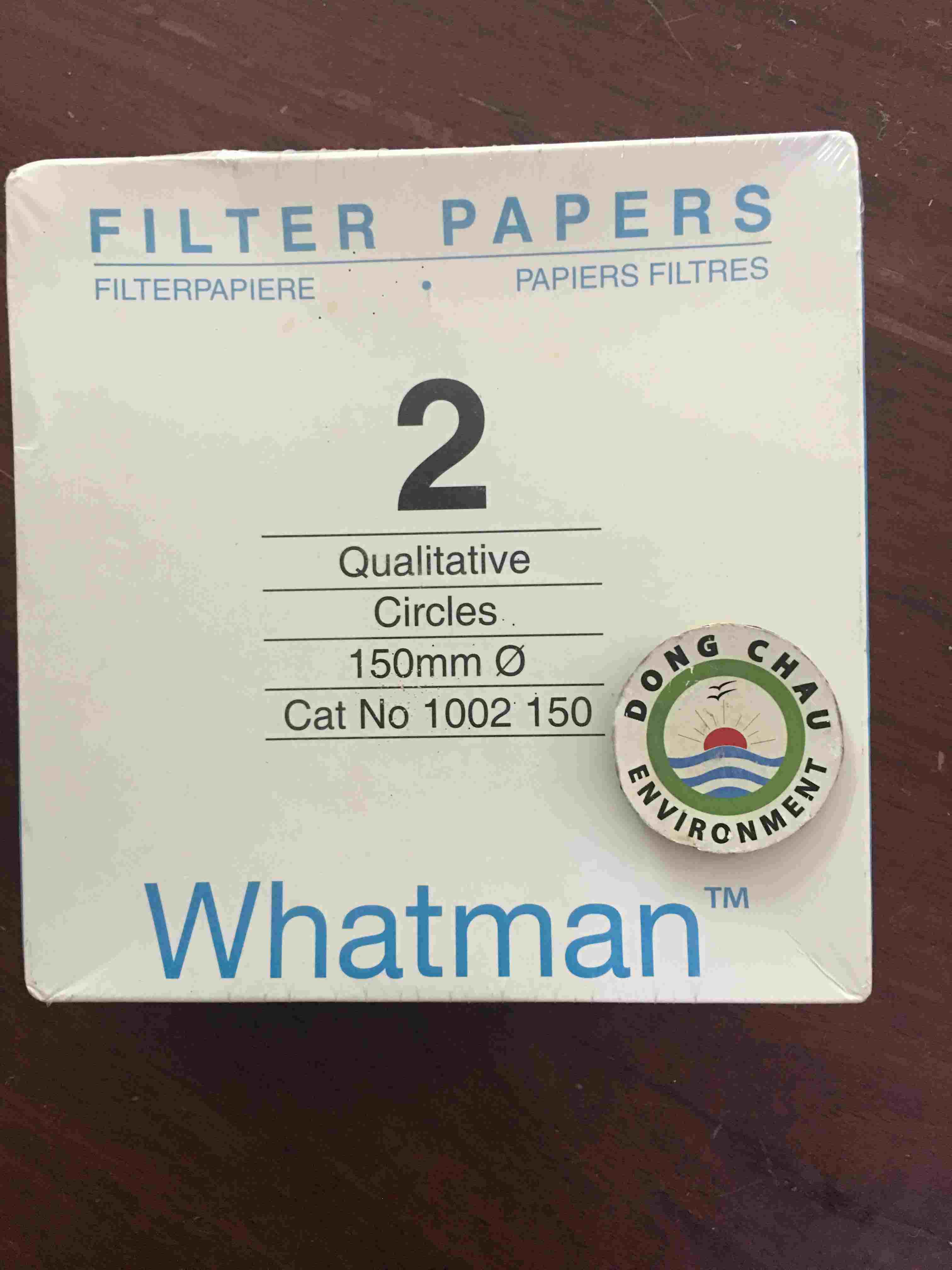 Giấy Lọc Phòng Thí Nghiệm Whatman Số 2 Đường Kính 180mm