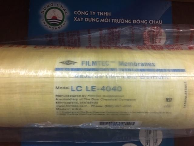 LCLE 4040 Dow Filmtech USA Màng RO áp thấp