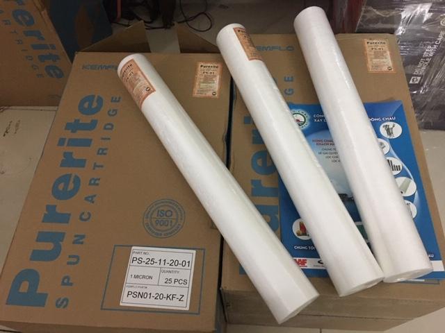 Lõi lọc 1 micron 20 inch Kemflo Purerite Đài Loan PS01 - 20 inch