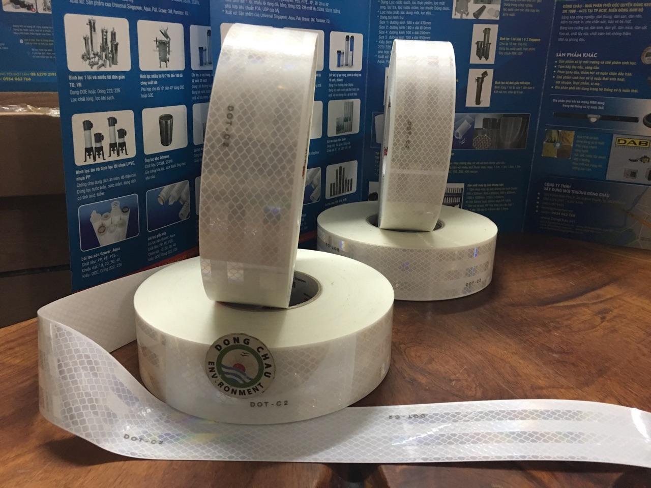 Băng keo phản quang màu trắng 3M 983-10