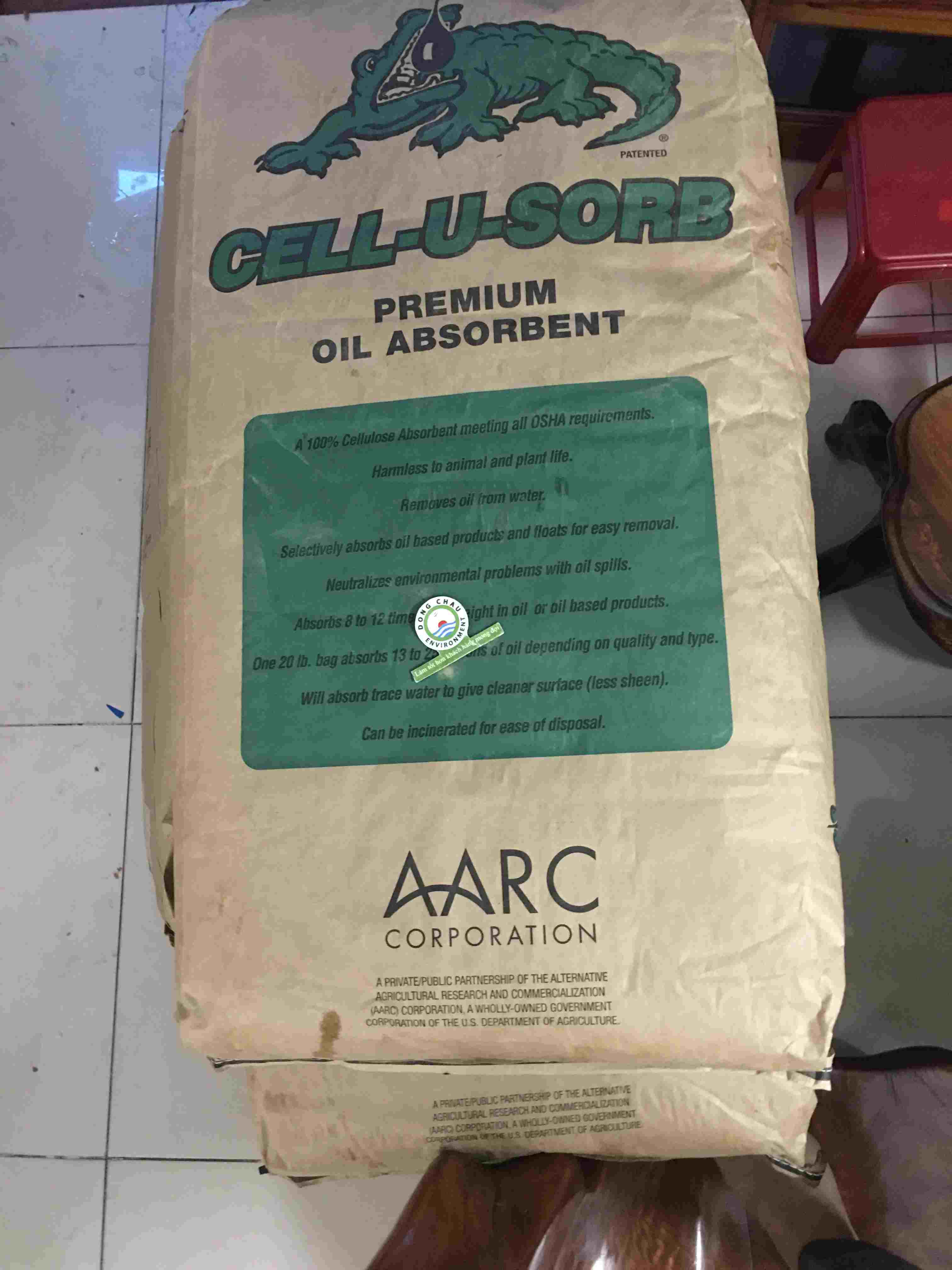 Bao bông thấm dầu tràn vãi Gator Cell-u-sorb Cell-U-Sorb