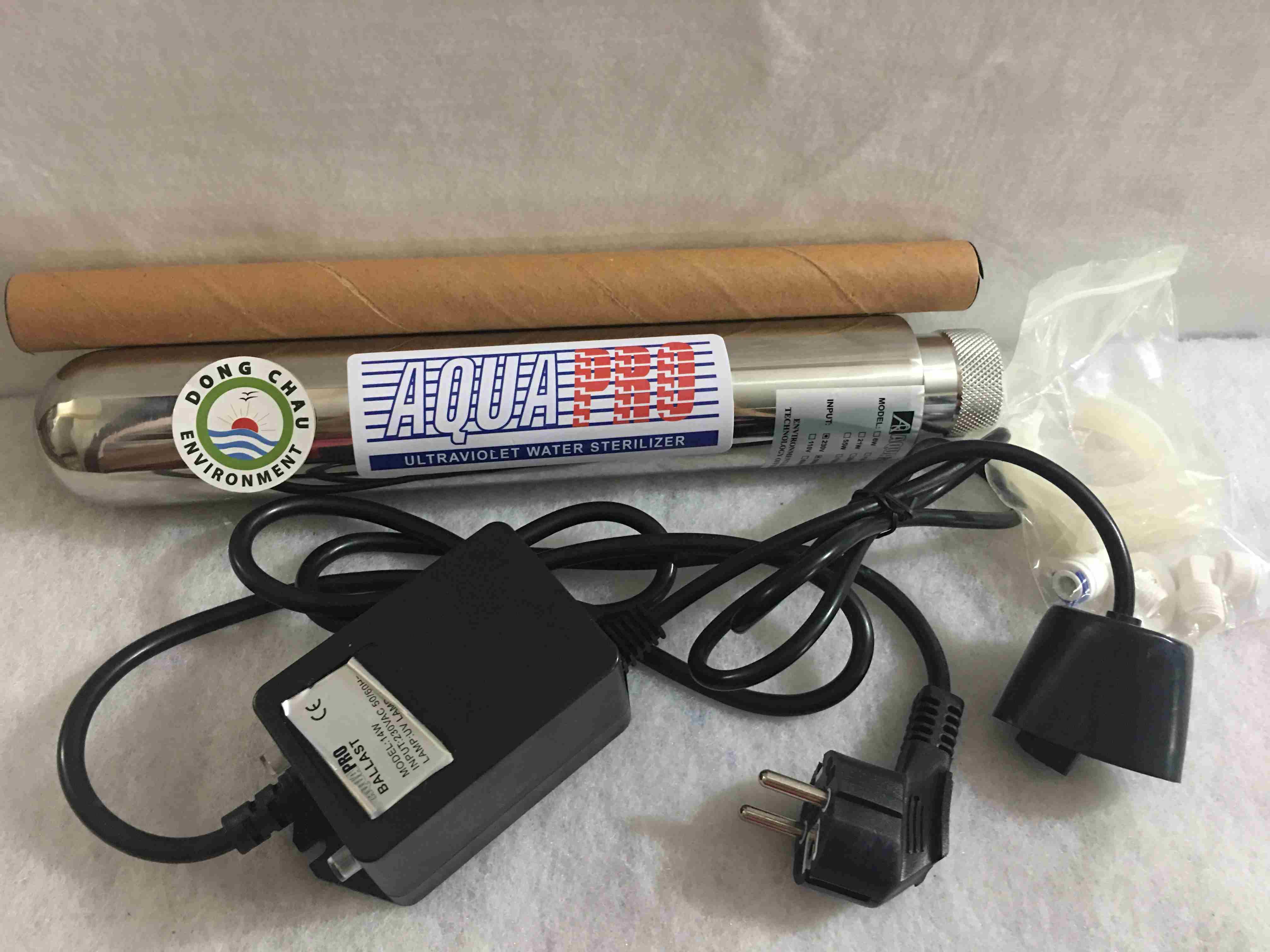 Bộ đèn khử trùng UV 14w