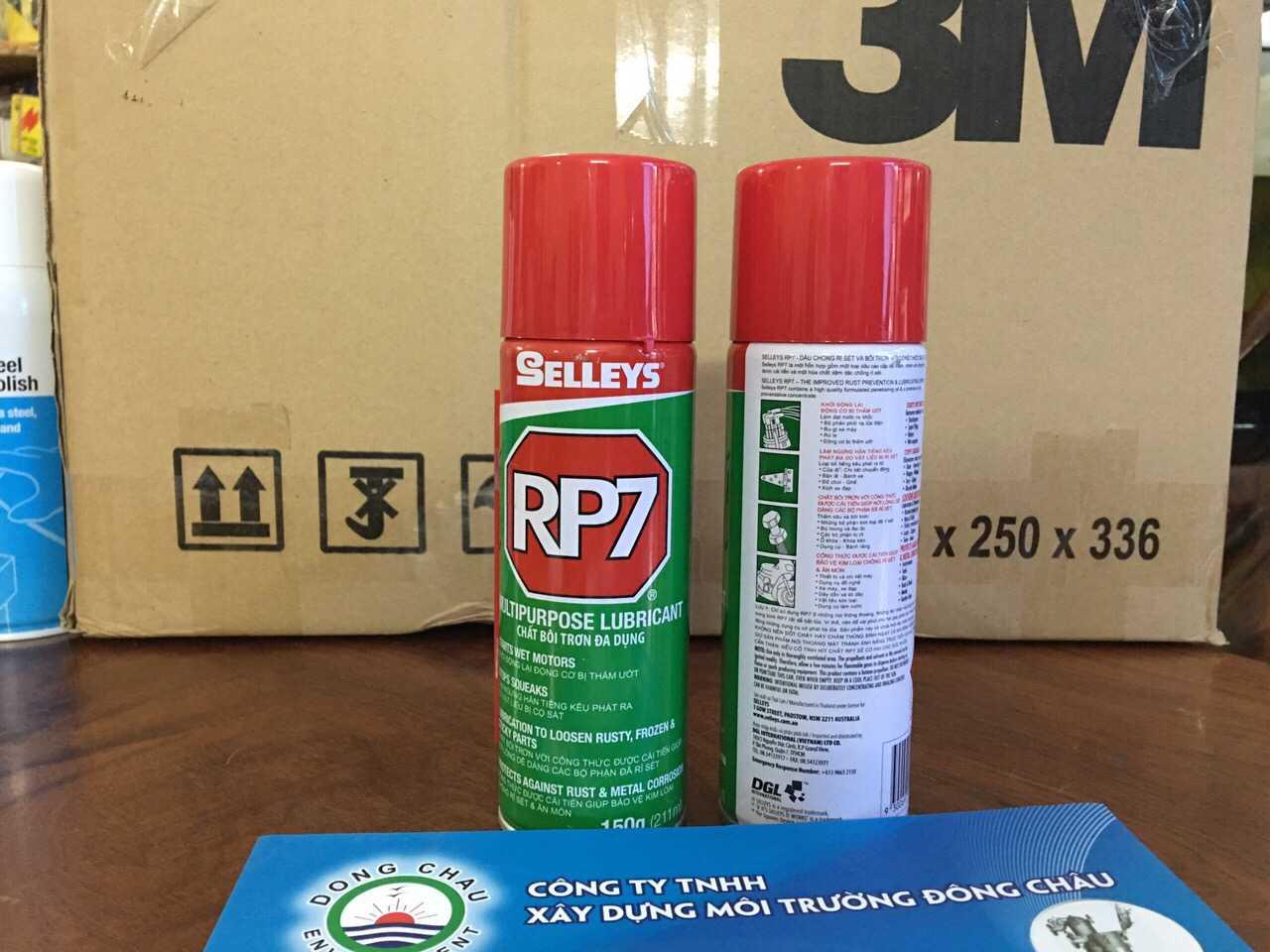 Chai xịt chống rỉ sét, ăn mòn Selleys RP7