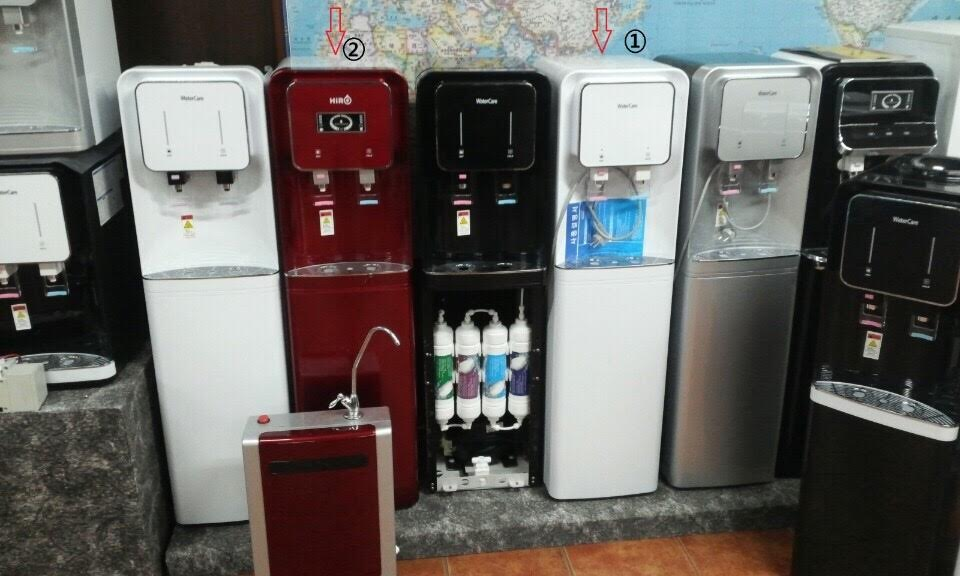Cột lọc nước uống nóng lạnh của Clean Green Hàn Quốc