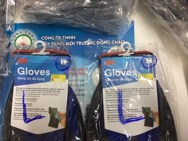 Găng tay chống cắt 3M cấp độ 1 size L
