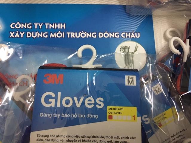 Găng tay chống cắt 3M cấp độ 1 size M