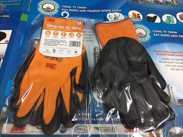 Găng tay đa dụng 3M màu cam size L, M, XL toàn quốc giá sỉ