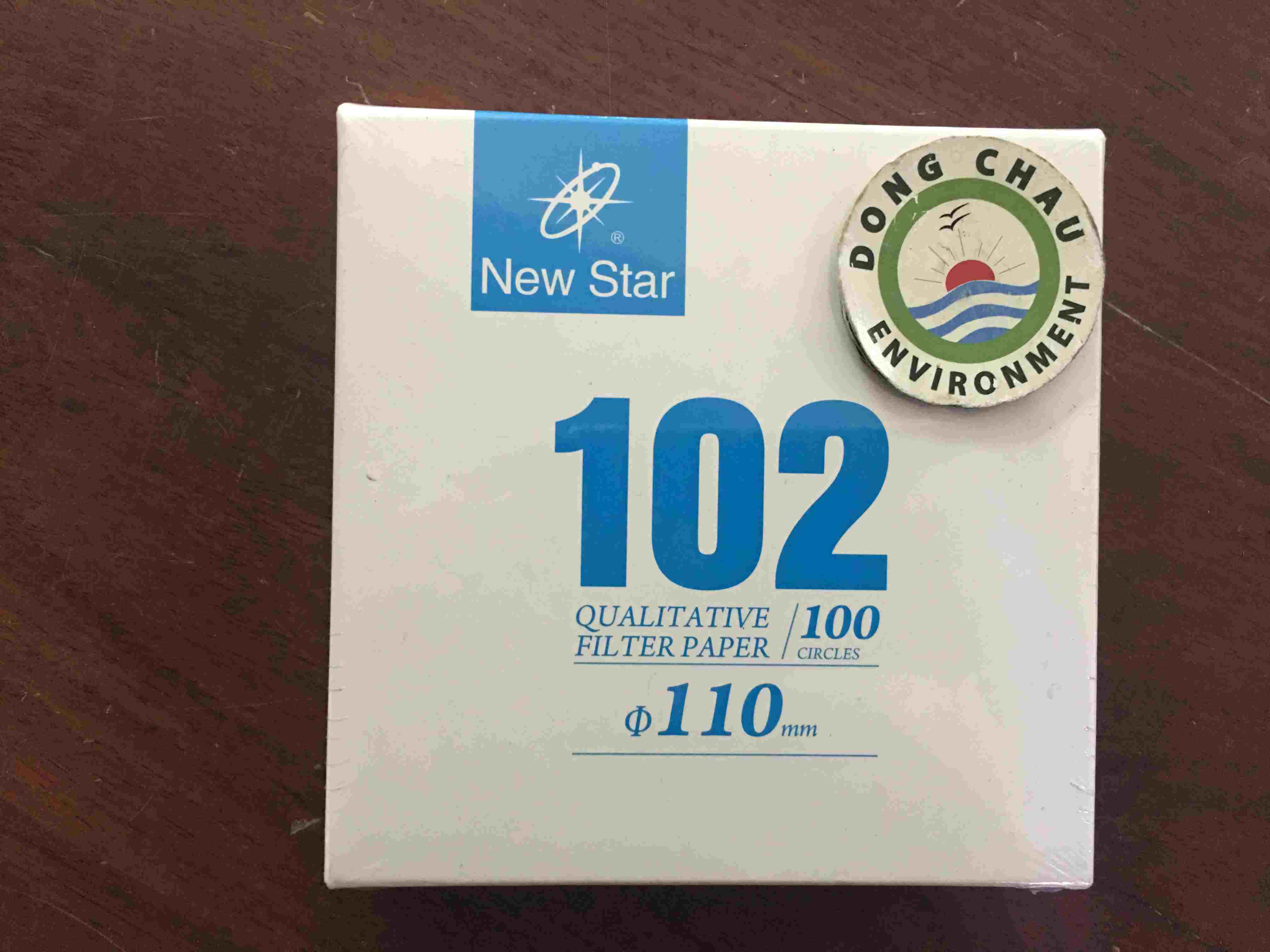 Giấy lọc phòng thí nghiệm Newstar 102 đường kính 110 mm