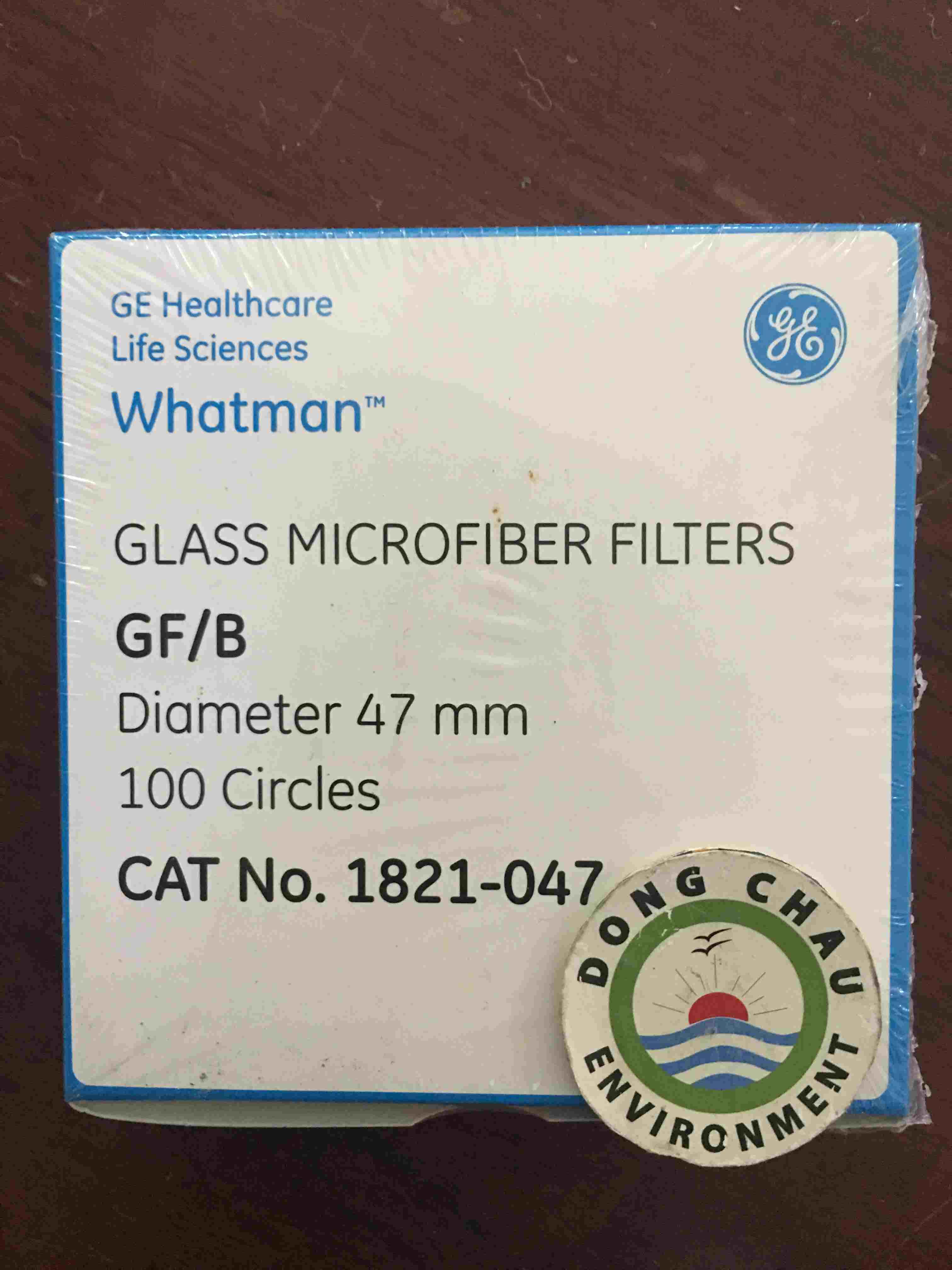 Giấy lọc phòng thí nghiệm sợi thủy tinh Whatman GF/B 47mm