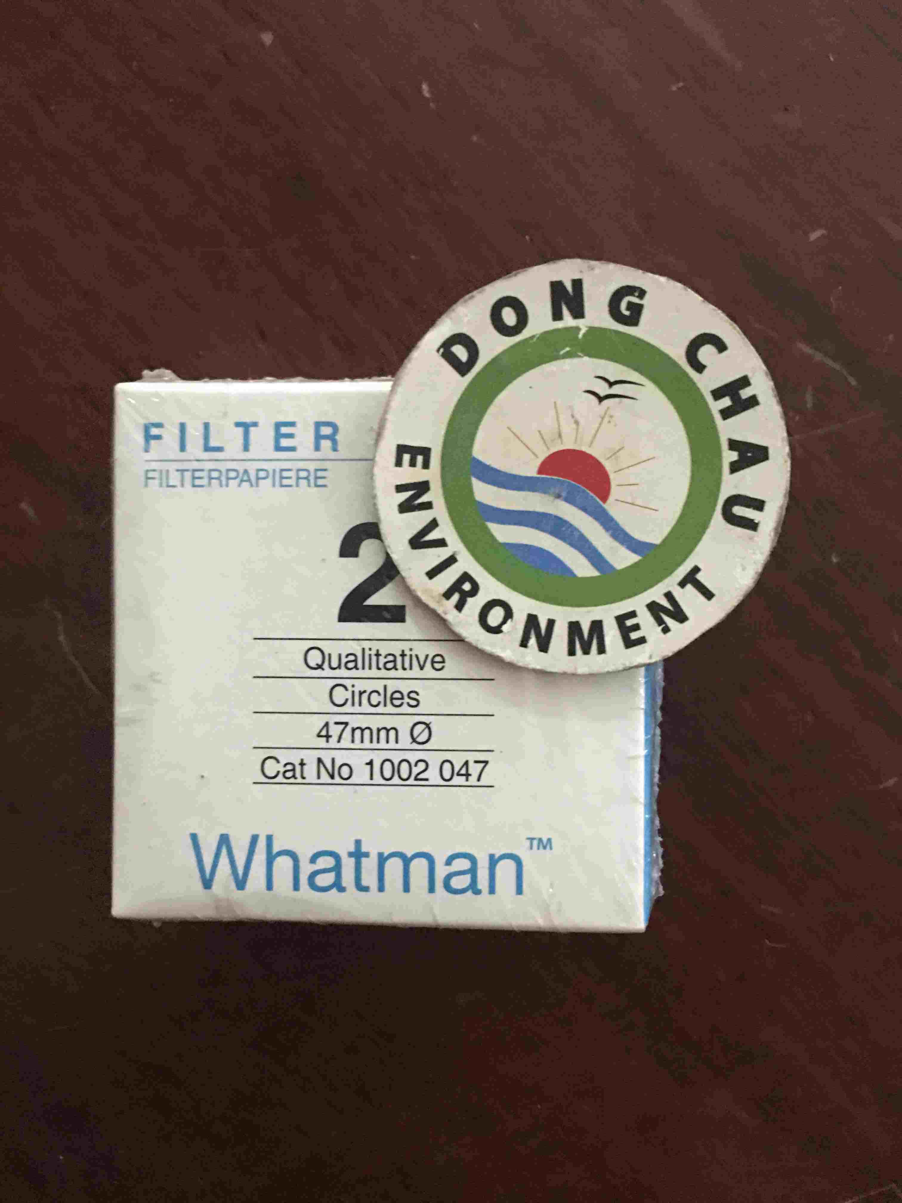 Giấy lọc phòng thí nghiệm Whatman số 2, 47mm