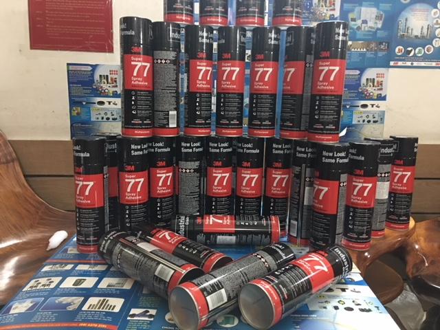 Keo xịt 3M 77 mẫu mới