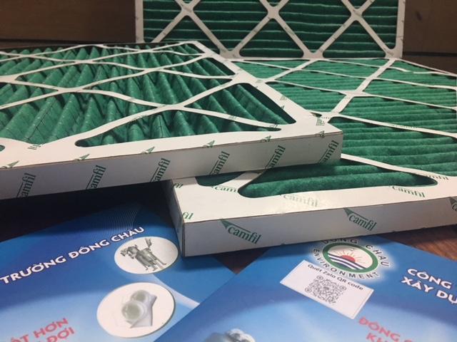 Khung lọc khí thô Camfil G4 khung giấy