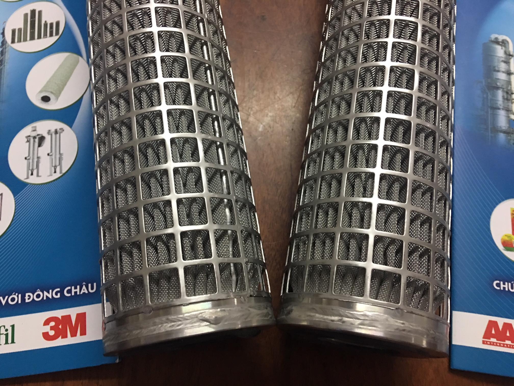 Lõi lọc inox 304 Universal 10 inch dạng gấp nếp